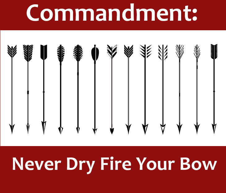 Don't Dry Fire the Bow